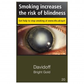 Davidoff Bright Gold 20s Cigarettes