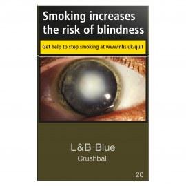 Lambert Butler Blue Crushball 20 McGahey Tobacconist