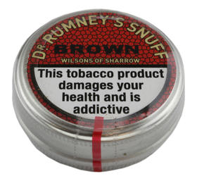 Dr Rumneys Brown snuff