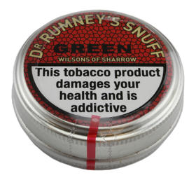 Dr Rumneys Green snuff