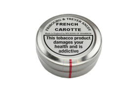 French Carotte Tin FT snuff