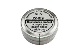 Old Paris Tin FT snuff