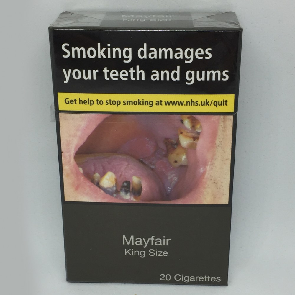 Mayfair king size cigarettes prices effects from cigarettes
